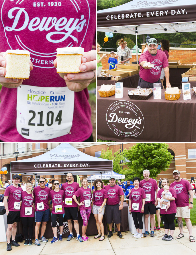 Dewey's Bakery in Annual Hospice Hope Run 1 - Scott Livengood
