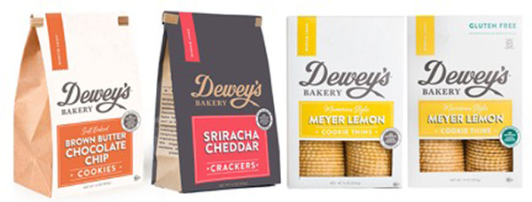 Dewey's Bakery Southern Inspired Cookies and Crackers - Scott Li