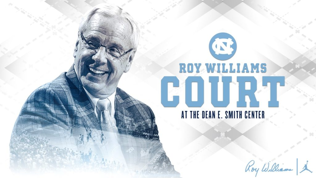 UNC TO NAME SMITH CENTER FLOOR FOR ROY WILLIAMS - Scott Livengoo