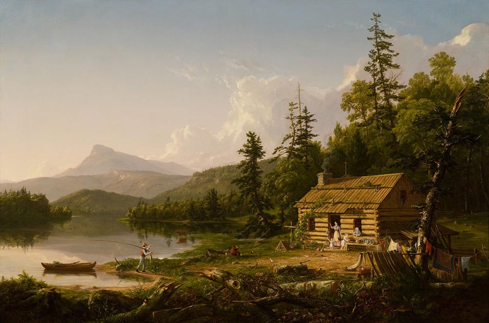 "Thomas Cole ""Home in the Woods"" Exhibit - Scott Livengood"