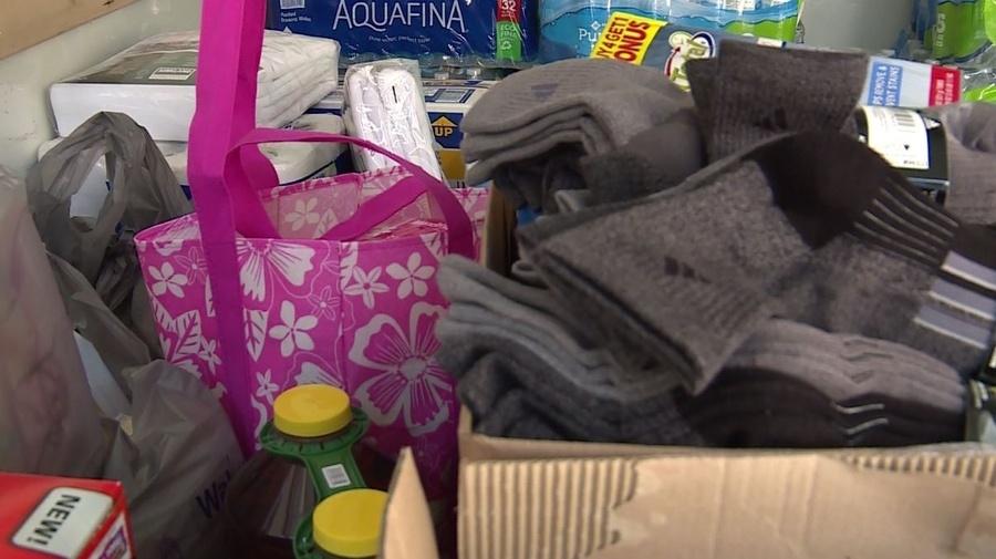 Winston-Salem donate supplies to hurricane victims - Scott Liven