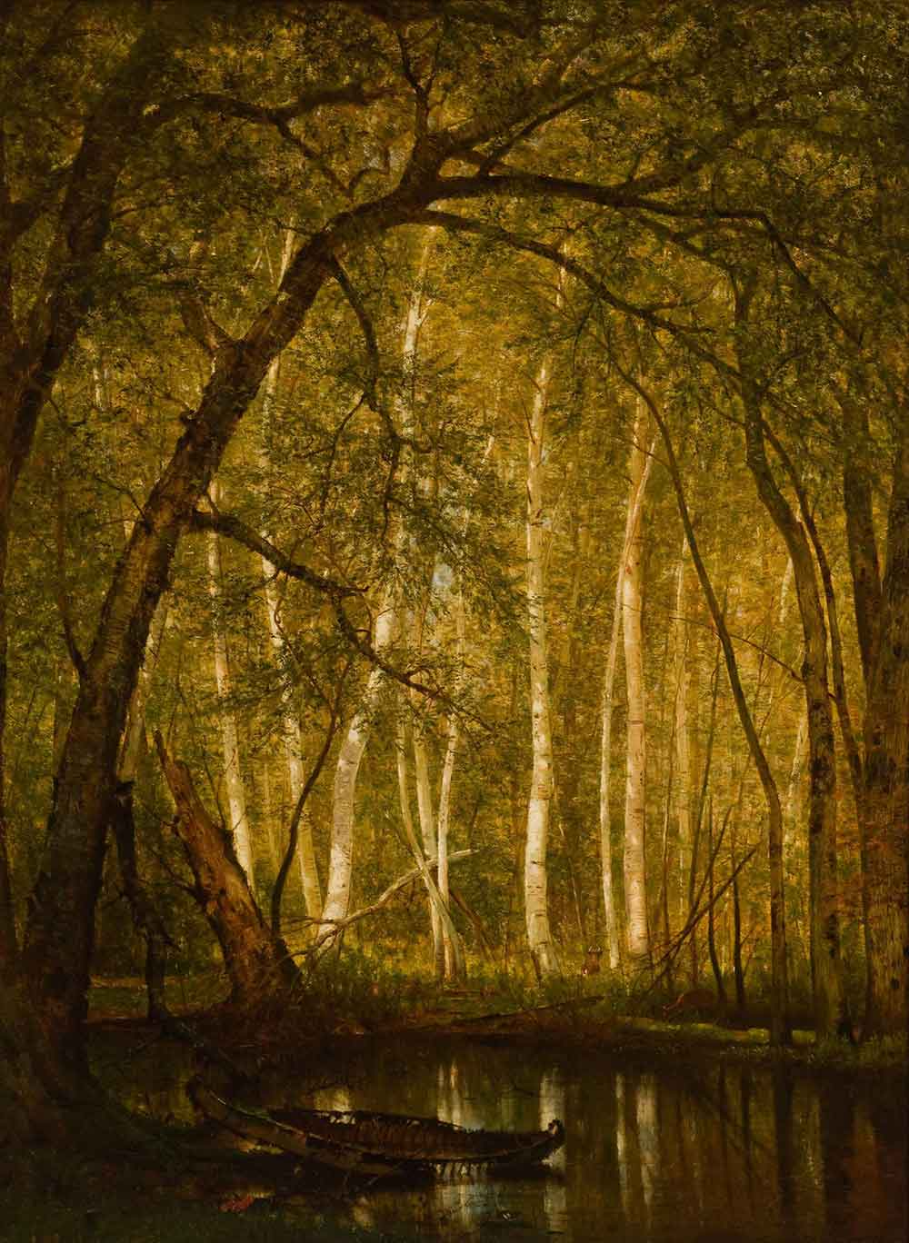 Worthington Whittredge: The Old Hunting Grounds - Scott Livengoo