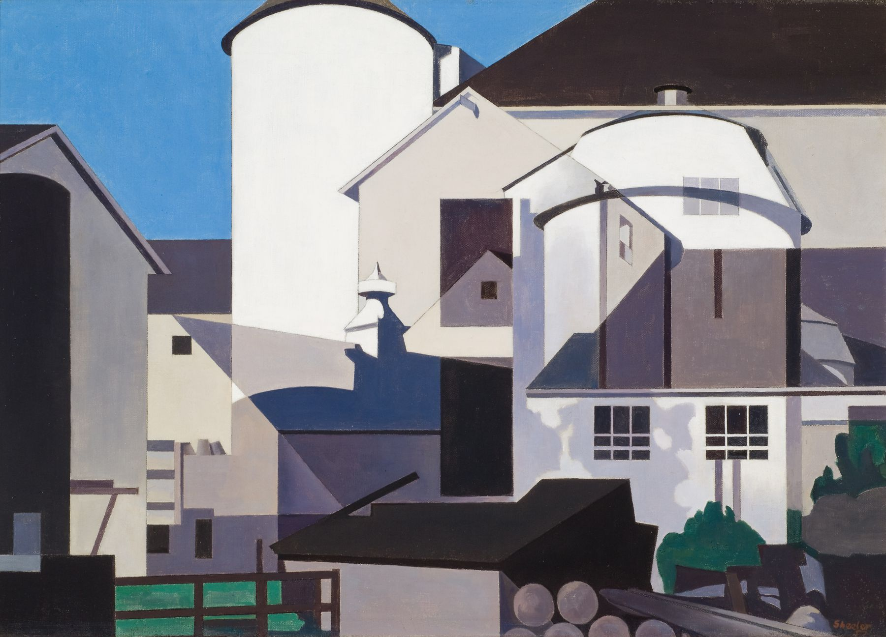 Conversation Piece by Charles Sheeler - Scott Livengood