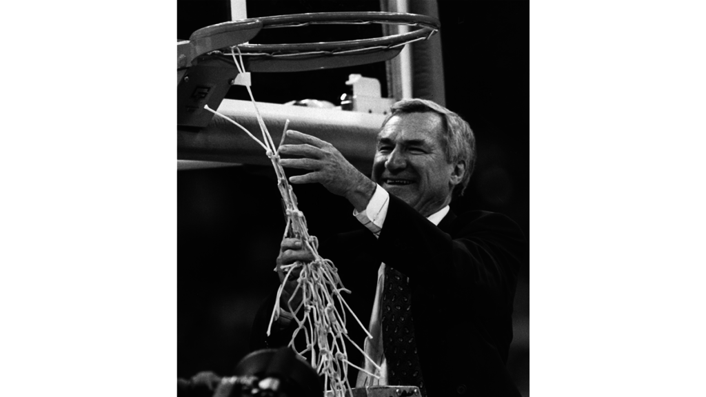 225 years of Tar Heels - Dean Smith - Scott Livengood