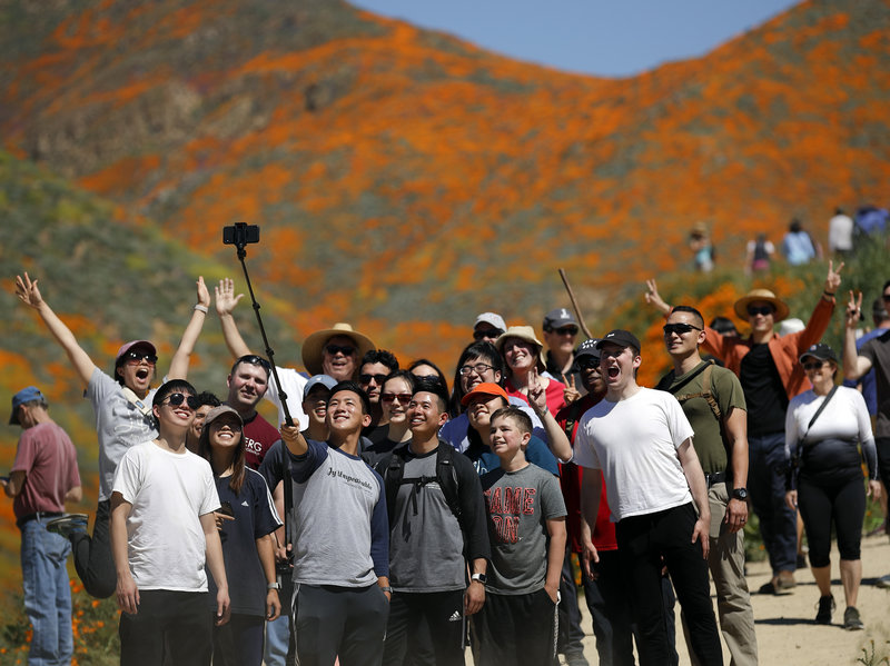 A California City Swarmed By Selfie Stick-Toting Tourists - Scott Livengood