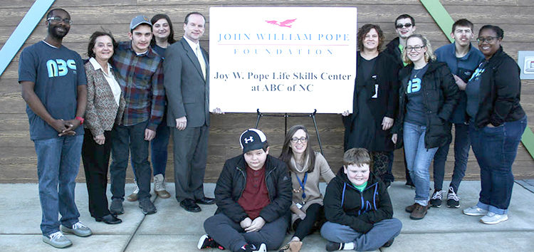 ABC of NC Receives Prestigious Joy W. Pope Memorial Grant in Human Services - Scott Livengood