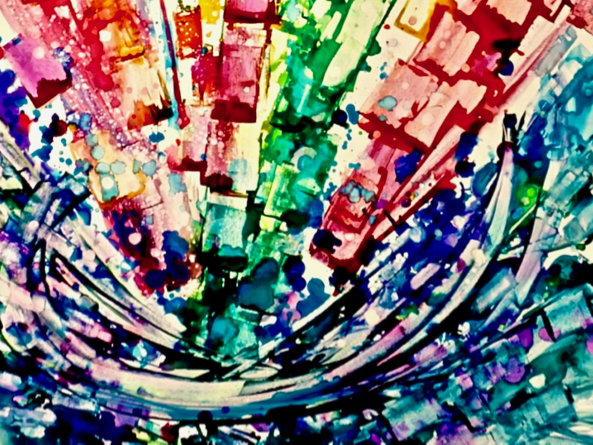 How A Synesthetic Artist Sees Sounds And Turns Music Into Paintings - Scott Livengood