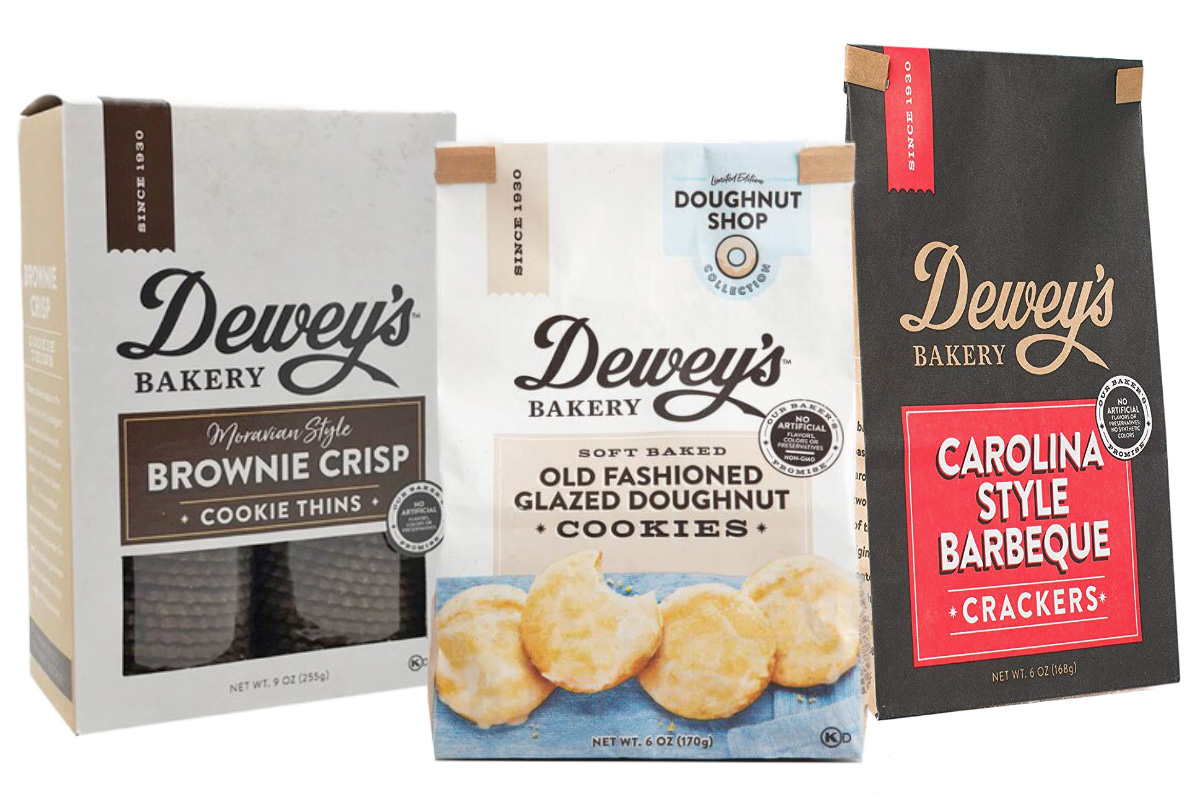 Dewey's Bakery Launches Soft Baked Cookies, Premium Snack Crackers, and Moravian Style Cookie Thins - Scott Livengood