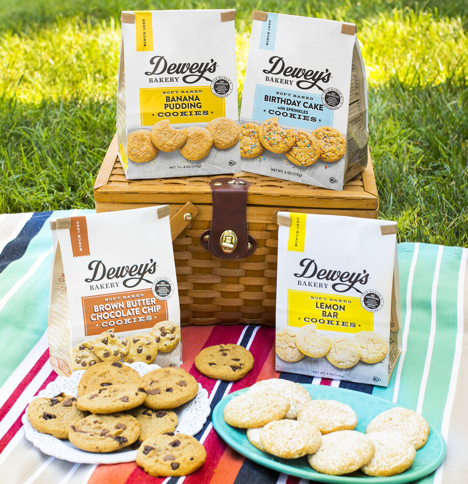 Dewey's Bakery Brings America a Unique Flavor Experience with New Soft Baked Cookie Collection - Scott Livengood