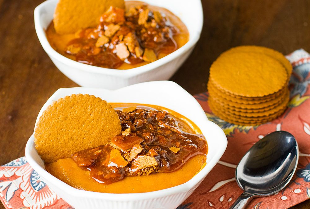 Sweet Potato Spoon Bread Recipe with Moravian Cookie Thins - Scott Livengood