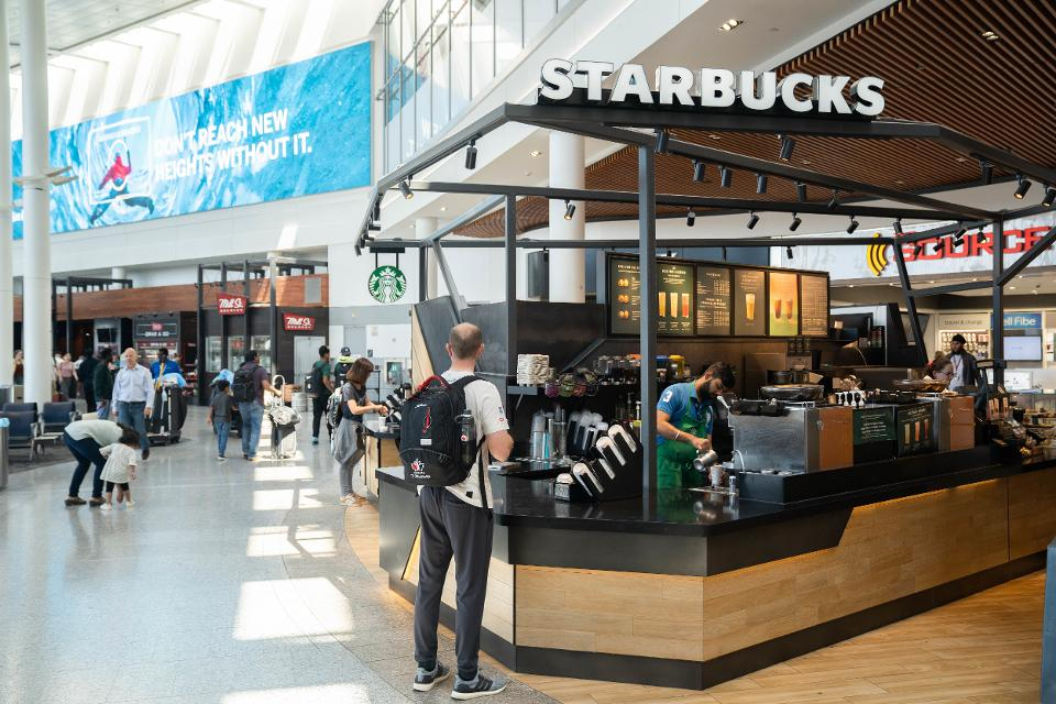 You're Going To See More Local Coffee Places In Airports, And Not Just Starbucks - Scott Livengood