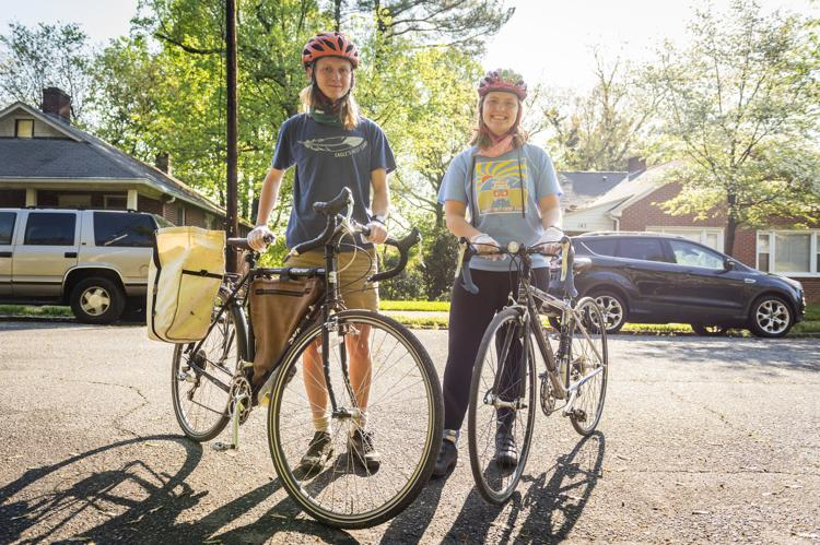 Homemade bagels, delivered by bicycle, mean money for food charities in Winston-Salem - Scott Livengood
