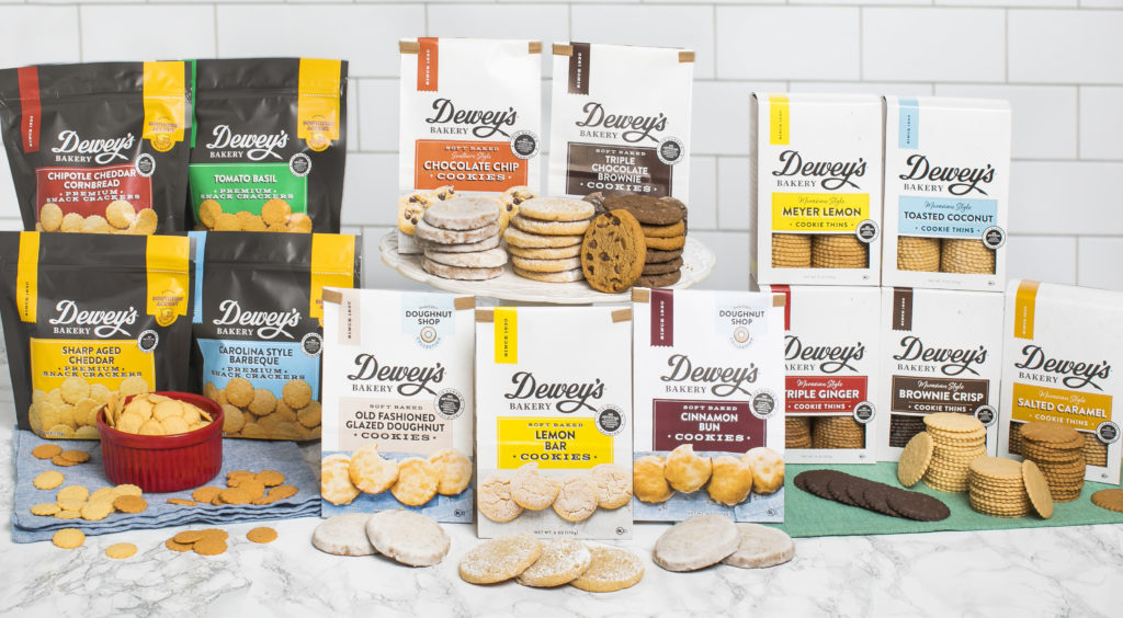 Dewey's Bakery Product Lines